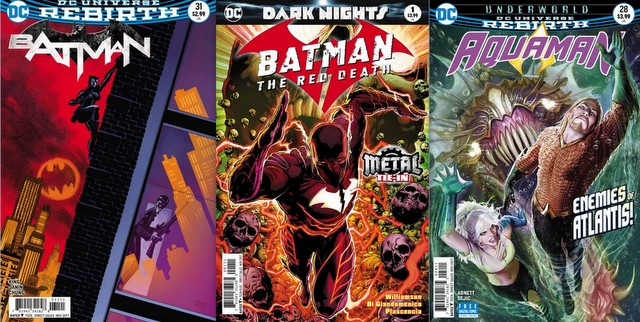 DC Comics Reviews for the week of 9/20/17