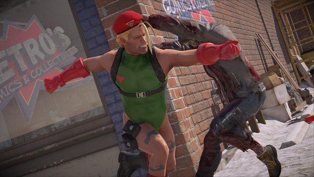 Dead Rising 4 Frank's Big Package - Frank as Cammy