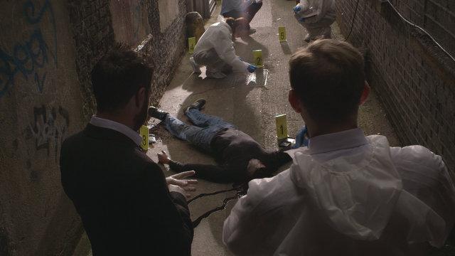Demon Hunter review -Beckett investigating