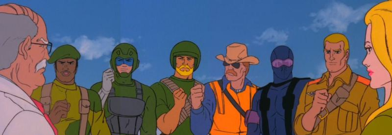 GI Joe A Real American Hero movie review - Stalker, Tripwire, Rock n Roll, Wild Bill, Duke and Cover Girl