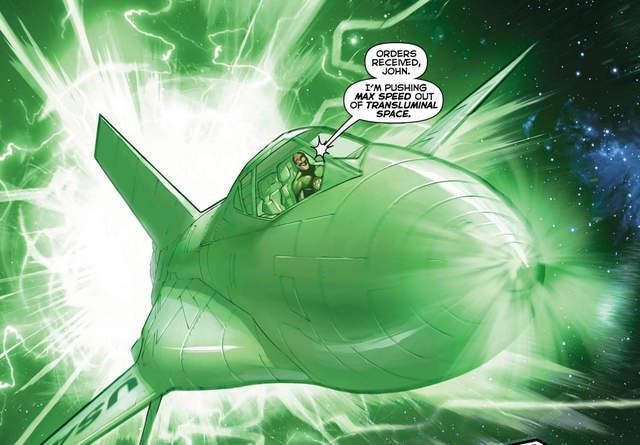 Hal Jordan and the Green Lantern Corps #28 interior art