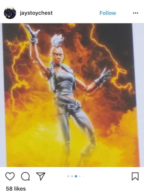 HasCon 2017 marvel legends Storm