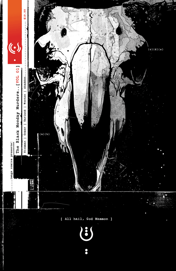The Black Monday Murders #1