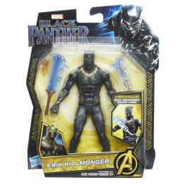 MARVEL BLACK PANTHER 6-INCH Figure Assortment (Erik Killmonger) - in pkg