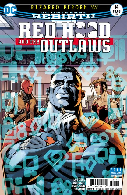 Red Hood and the Outlaws #14 cover