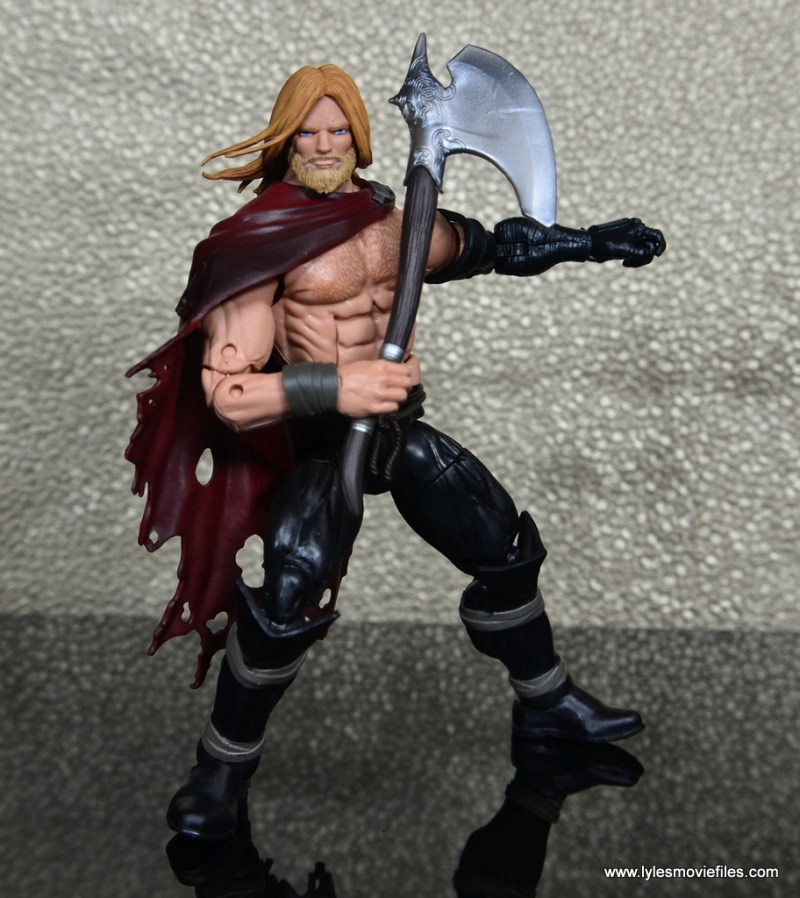 SDCC 2017 Marvel Legends Battle for Asgard figure review - Odinson with axe