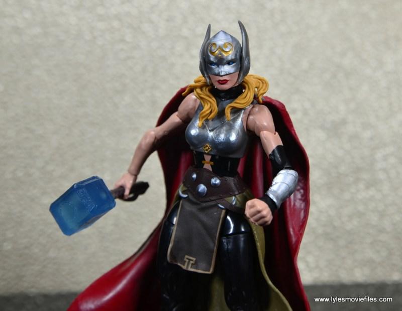 SDCC 2017 Marvel Legends Battle for Asgard figure review - Thor closeup