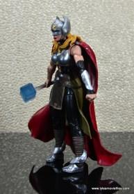 SDCC 2017 Marvel Legends Battle for Asgard figure review - Thor left side