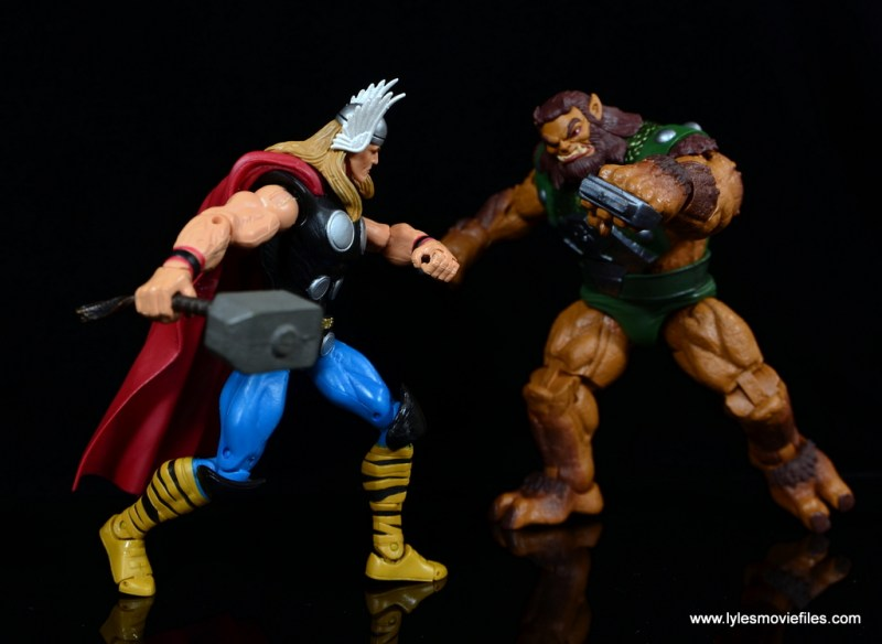 SDCC 2017 Marvel Legends Battle for Asgard figure review - Thor vs Ulik