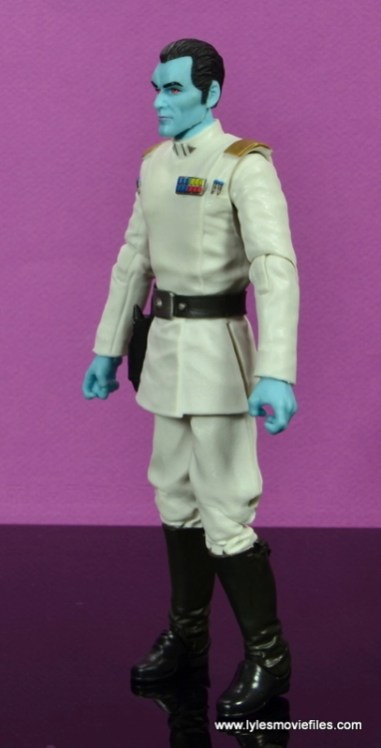 Star Wars The Black Series Grand Admiral Thrawn figure review -left side