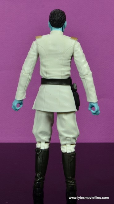 Star Wars The Black Series Grand Admiral Thrawn figure review -rear