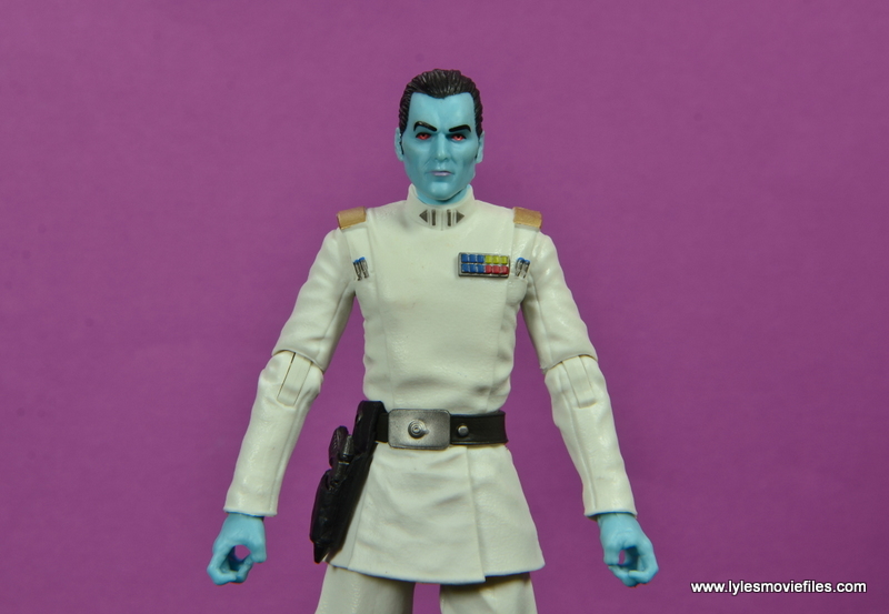 Star Wars The Black Series Grand Admiral Thrawn figure review -wide