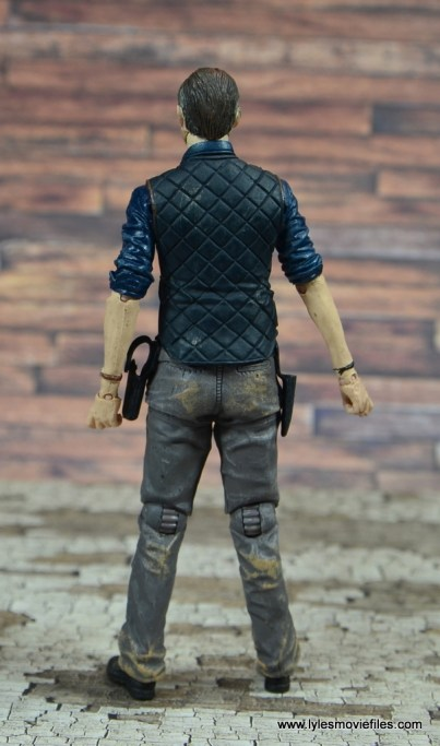 The Walking Dead The Governor TV Series figure review -rear