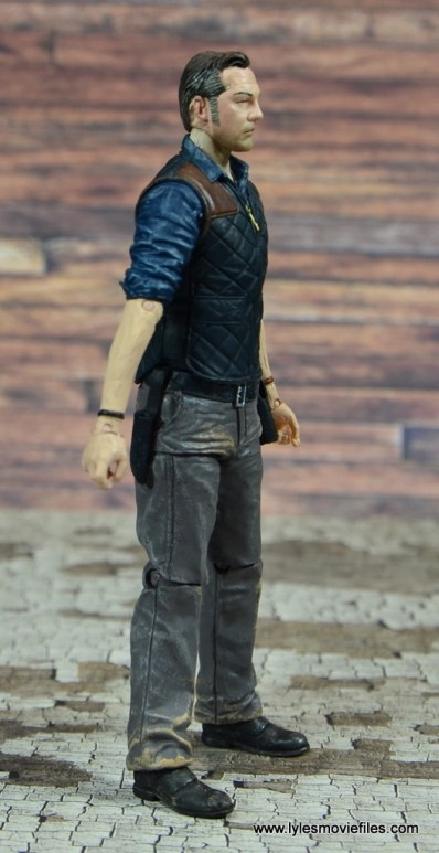 The Walking Dead The Governor TV Series figure review -right side
