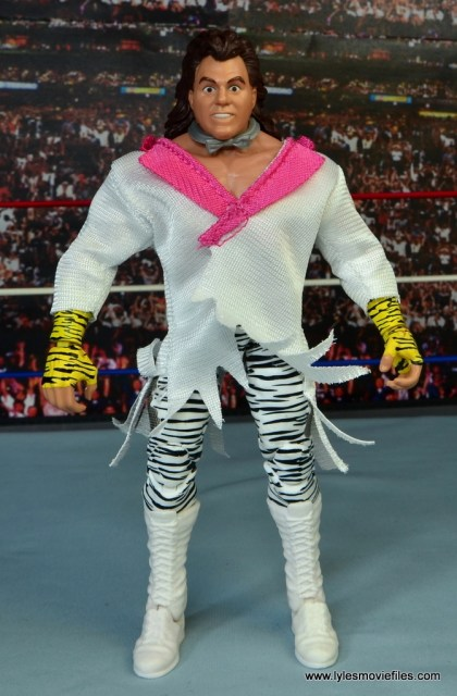 WWE Elite Brutus The Barber Beefcake figure review - front