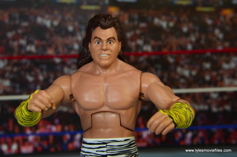 WWE Elite Brutus The Barber Beefcake figure review -wide pic