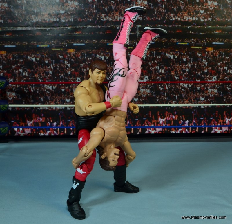 WWE Hall of Fame Jerry The King Lawler figure review -piledriver to Rick Rude