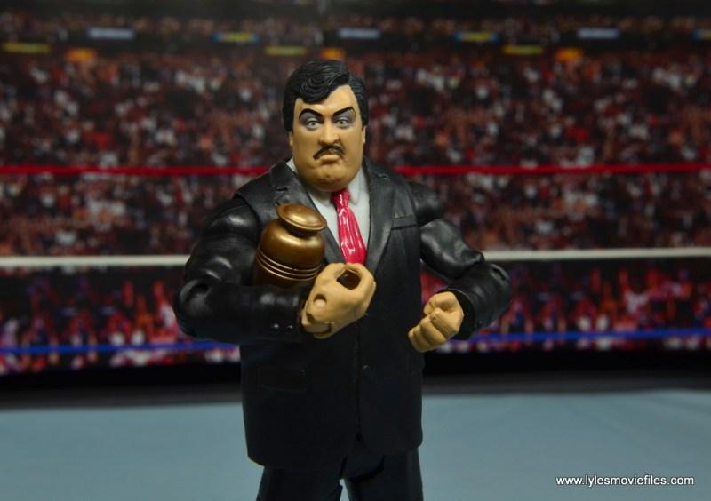 WWE Paul Bearer figure review - holding urn