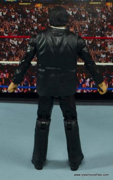 WWE Paul Bearer figure review -rear