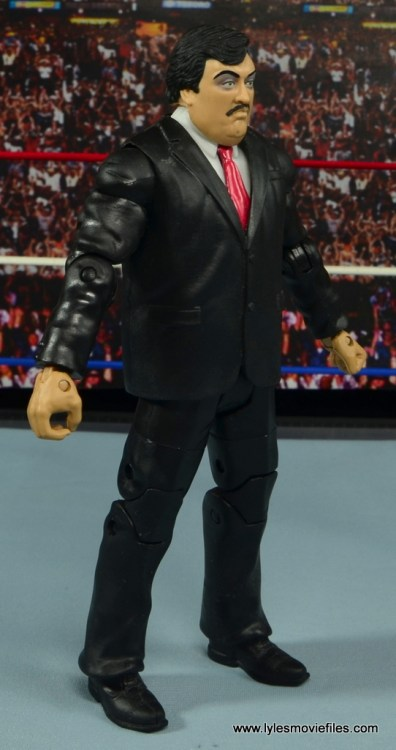 WWE Paul Bearer figure review - right side