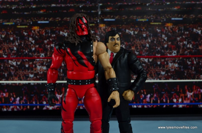WWE Paul Bearer figure review -with Kane