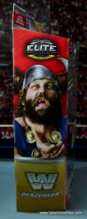 WWE The Berzerker figure review -package side