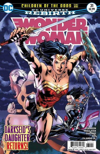 Wonder Woman #31 cover