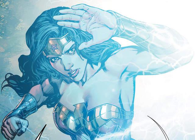 Wonder Woman #31 interior art