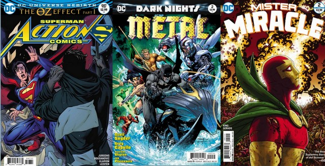 DC Comics reviews for the week of 9/13/17