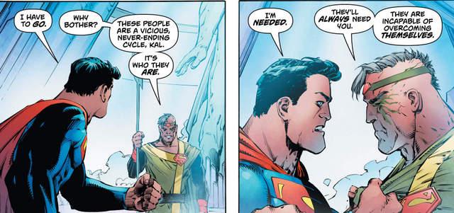 Action Comics #989 interior art
