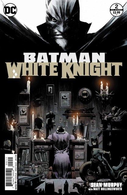 Batman White Knight #2 cover