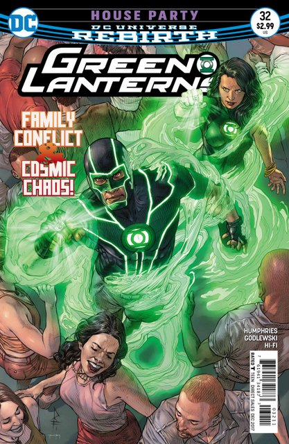 Green Lanterns #32 cover