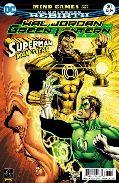 Hal Jordan and the Green Lantern Corps #30 cover