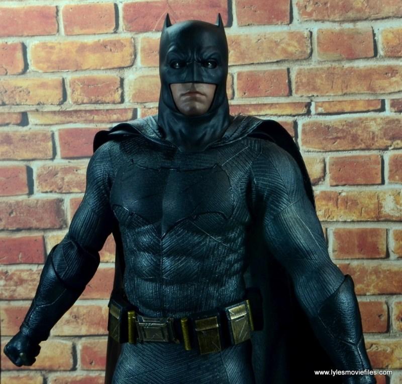 Hot Toys Batman v Superman Batman figure review - profile