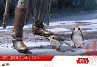 Hot Toys The Last Jedi Rey Jedi Training figure - poorgs