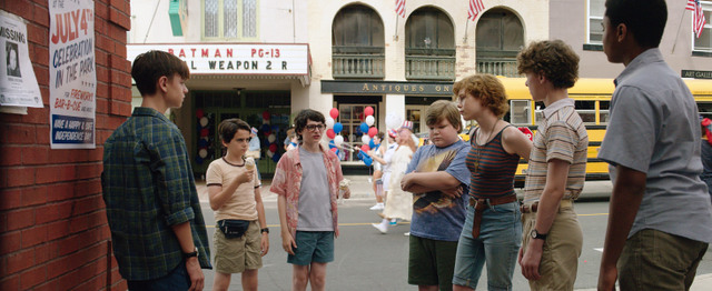 It movie review - Bill, Eddie, Ben, Stanley, Ritchie, Bev and Mike