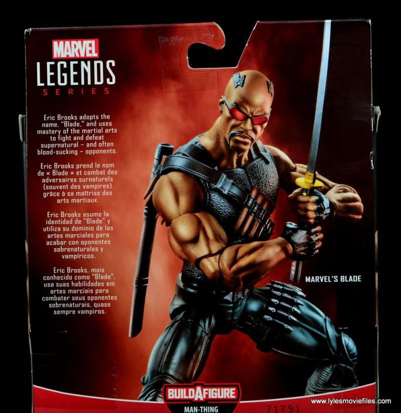 Marvel Legends Blade figure review -bio