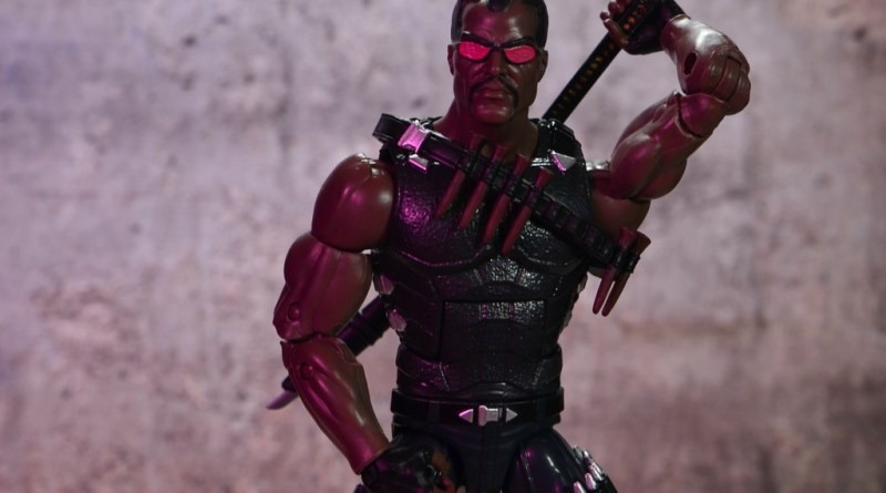 Marvel Legends Blade figure review -main pic