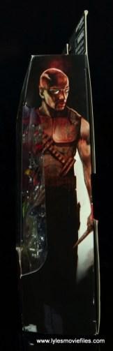 Marvel Legends Blade figure review -package side