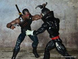 Marvel Legends Blade figure review - vs Morbius