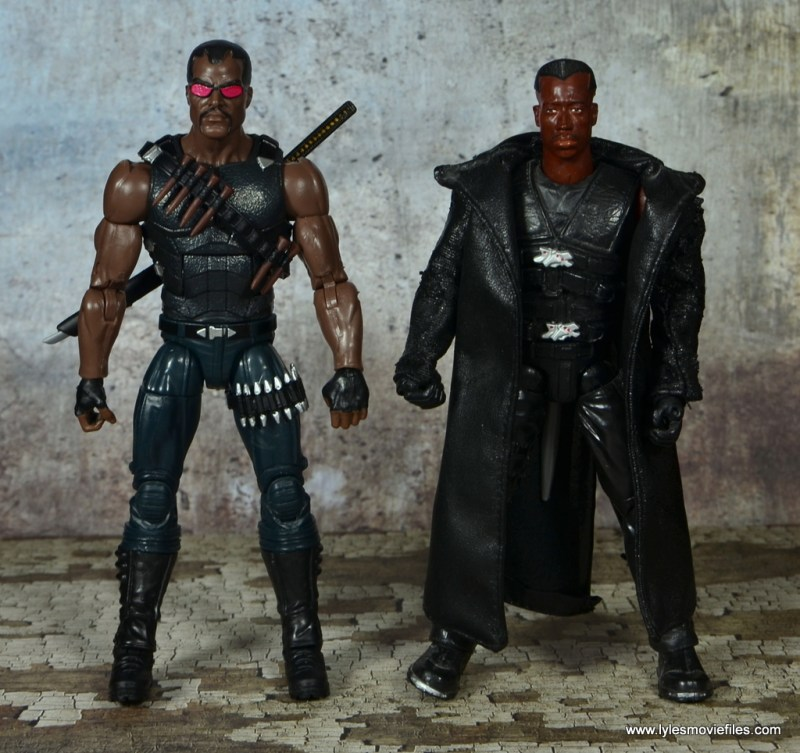 Marvel Legends Blade figure review -with Toy Biz Blade