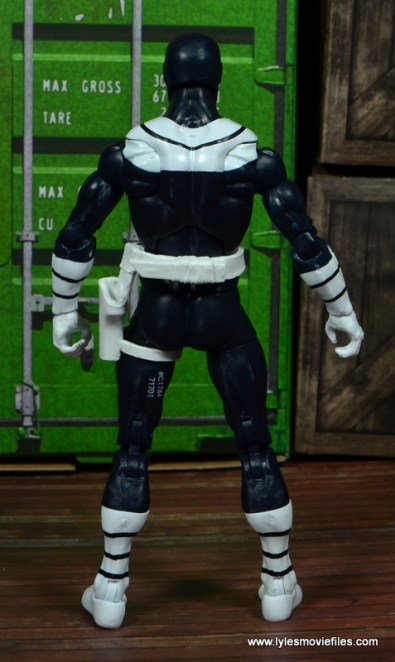Marvel Legends Bullseye figure review - rear