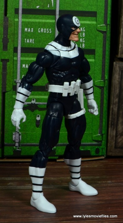 Marvel Legends Bullseye figure review - right side