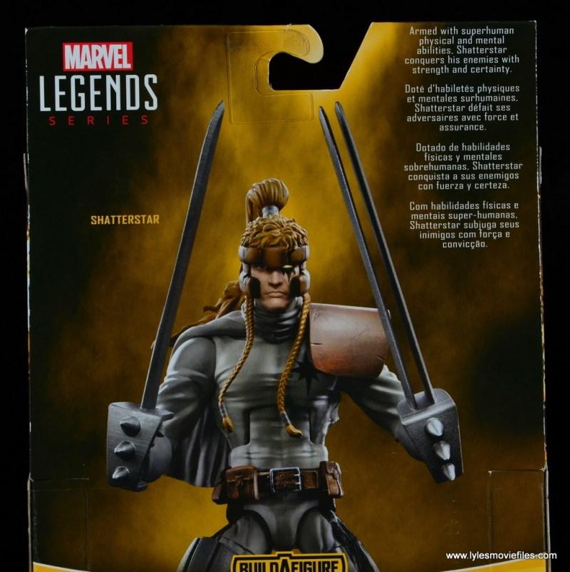 Marvel Legends Shatterstar figure review - bio