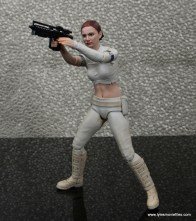 SH Figuarts Padme figure review - firing blaster