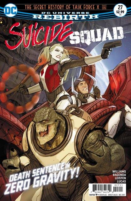 Suicide Squad #27 cover