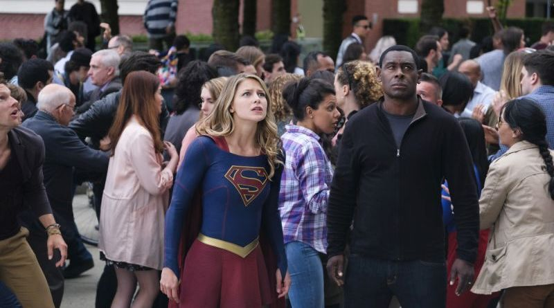 Supergirl The Girl of Steel review - Supergirl and J'onn