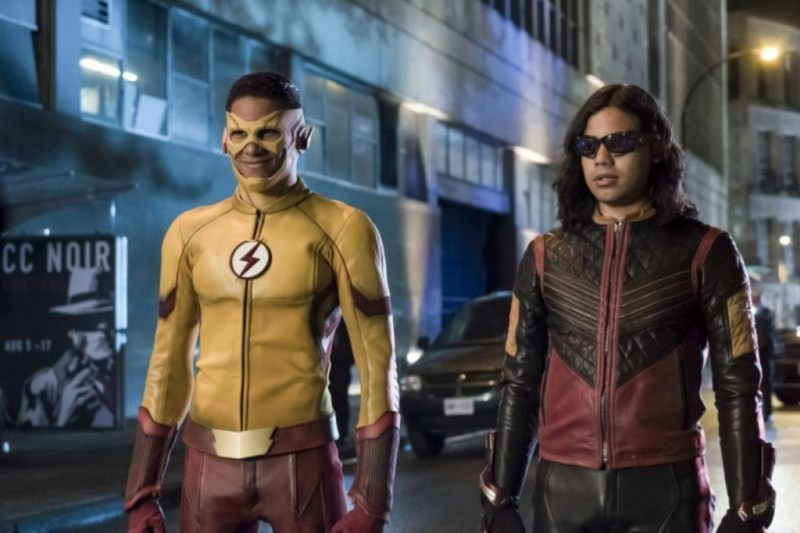 The Flash The Flash Reborn review - Kid Flash and Vibe