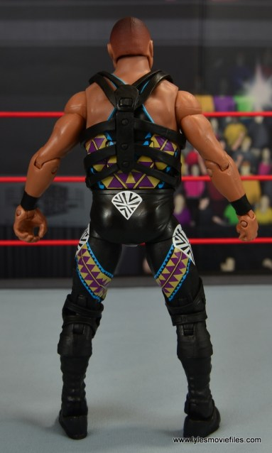 WWE Elite D-Lo Brown figure review - rear