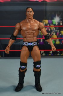 WWE Elite Farooq and The Rock Nation of Domination figure review set - The Rock front